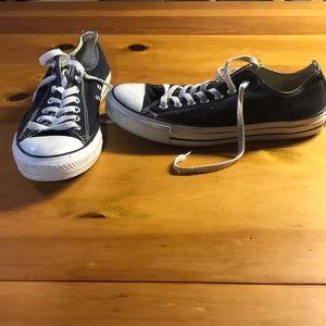 Size 9.5 men's Chuck 70. Size 11.5 women's